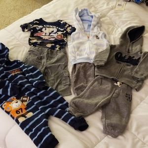 Four 6 month Outfits